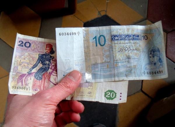 Динар валюта Туниса