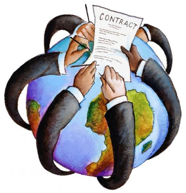 Подписания договора с аутсорсинговой компанией выгодно влияет на фирму.