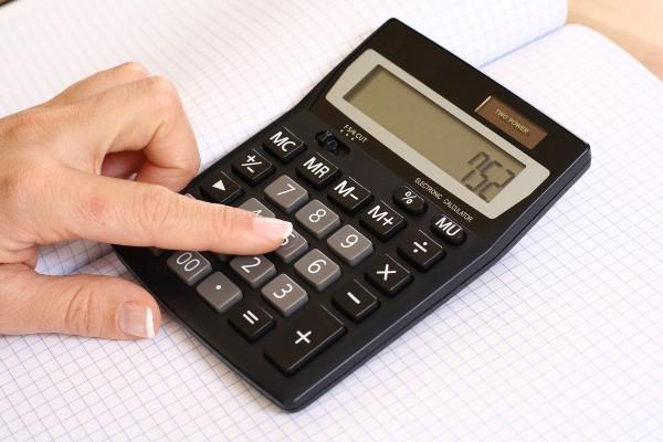 На фото - самостоятельный расчет декретных выплат