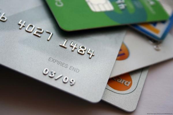 Фотоснимок кредитных карт
